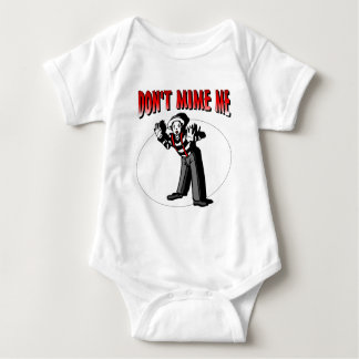 Kiss Me I'm A Mime Baby Bodysuit