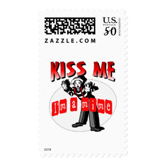 Kiss Me I'm A Mime Postage