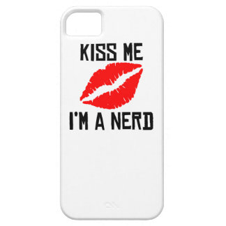 Kiss Me I'm A Nerd iPhone 5 Covers