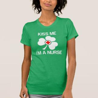 Kiss Me I'm a Nurse T Shirt
