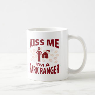 Kiss Me I'm A Park Ranger Coffee Mug
