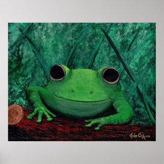 KISS ME, I'M A PRINCE! (frog) (large) ~ Poster