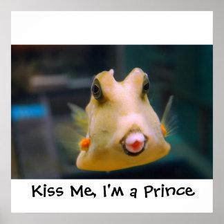 Kiss Me, I'm a Prince Poster