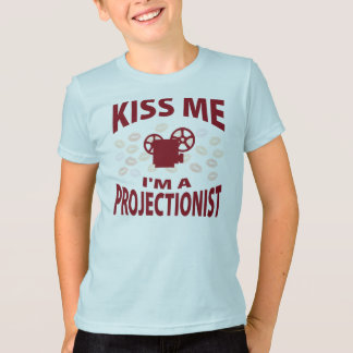 Kiss Me I'm A Projectionist T-Shirt