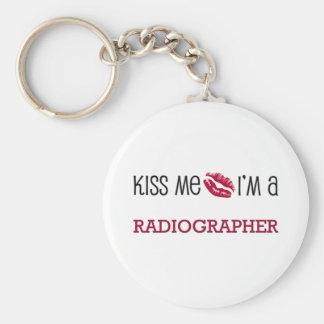Kiss Me I'm a RADIOGRAPHER Keychain