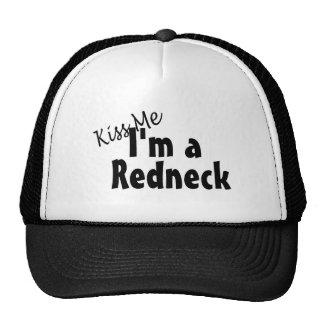 Kiss Me Im A Redneck Trucker Hat