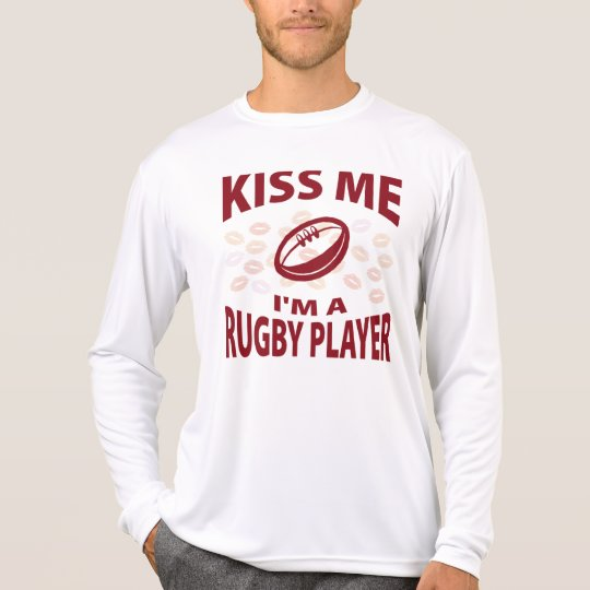 Kiss Me I'm A Rugby Player T-Shirt