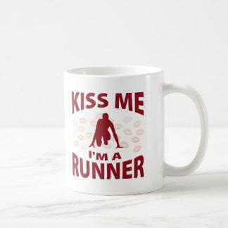 Kiss Me I'm A Runner Coffee Mug