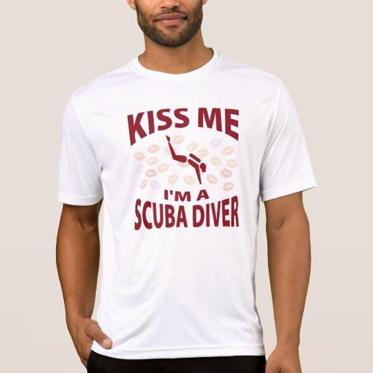 Kiss Me I'm A Scuba Diver T-Shirt