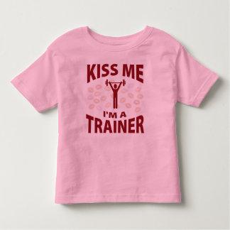 Kiss Me I'm A Trainer T Shirt