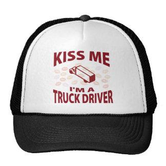 Kiss Me I'm A Truck Driver Trucker Hat
