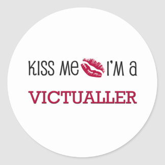 Kiss Me I'm a VICTUALLER Stickers
