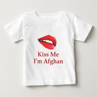 Kiss Me I'm Afghan Baby T-Shirt