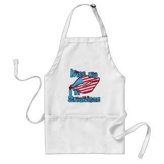 Kiss Me I'm American Products Adult Apron
