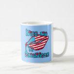 Kiss Me I'm American Products Coffee Mug