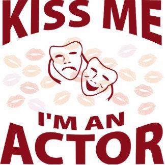 Kiss Me I'm An Actor Photo Sculptures