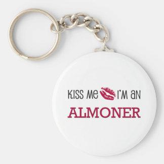 Kiss Me I'm an ALMONER Keychain