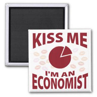 Kiss Me I'm An Economist Magnet