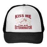 Kiss Me I'm An Exterminator Hat