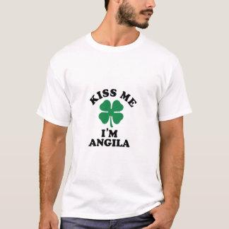 Kiss me, Im ANGILA T-Shirt
