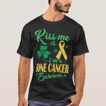 Kiss Me Im Bone Cancer Survivor T-Shirt