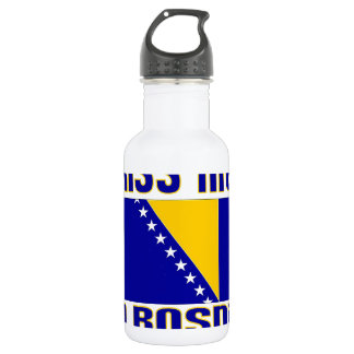 Kiss Me I'm Bosnian Water Bottle