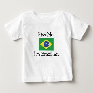 Kiss Me! I'm Brazilian Tshirt