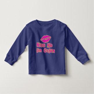 Kiss Me I'm Cajun Toddler T-shirt