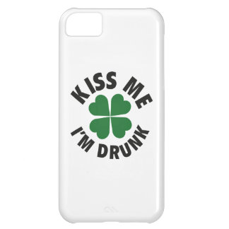 Kiss Me I'm Drunk iPhone 5C Covers