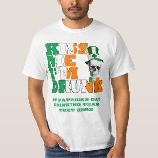 Kiss me I'm Drunk St Patrick's T-Shirt