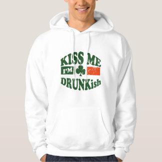 Kiss Me Im Drunkish Pullover