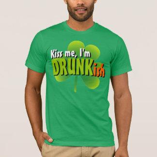 Kiss Me I'm Drunkish T-Shirt