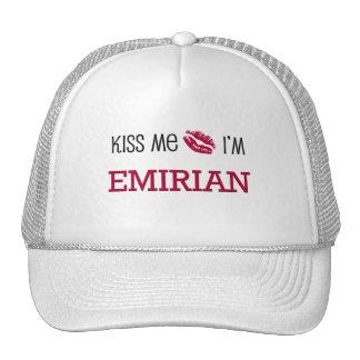 Kiss Me I'm EMIRIAN Trucker Hats