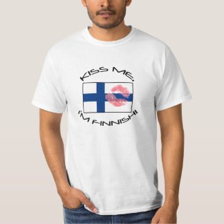 Kiss me, I'm Finnish! T-Shirt
