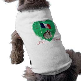 Kiss me I'm French pet clothing