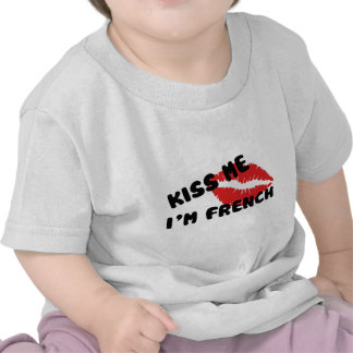 Kiss Me I'm French Tees