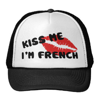 Kiss Me I'm French Trucker Hat