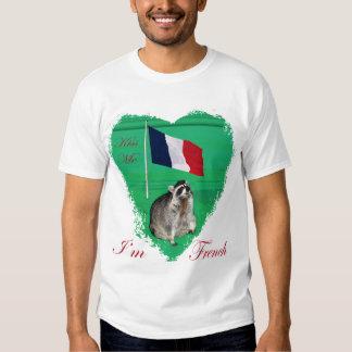 Kiss Me I'm French Tshirts