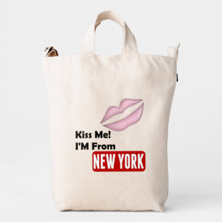 Kiss Me, I'M From New York Duck Bag