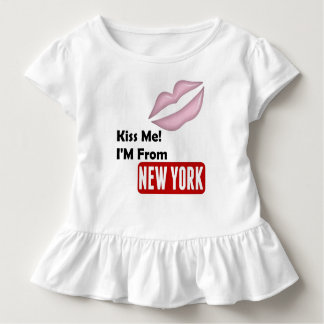Kiss Me, I'M From New York Toddler T-shirt