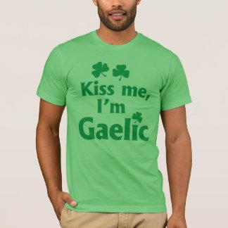 Kiss me, I'm Gaelic T-Shirt