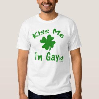 Kiss Me I'm Gayish Shirt