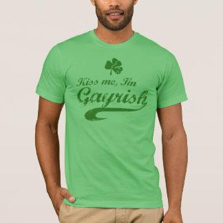 Kiss me, I'm Gayrish T-Shirt