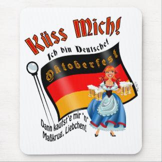 Kiss Me! I'm German (female) Mouse Pad