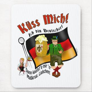 Kiss Me! I'm German (male) Mouse Pad