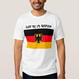 KISS ME I'M GERMAN SHIRT