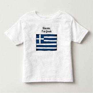 Kiss Me I'm Greek Tshirt