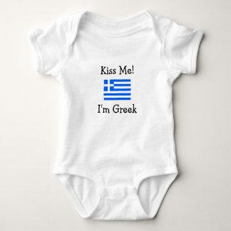 Kiss Me! I'm Greek Tshirt
