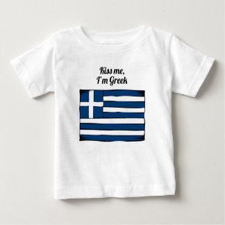 Kiss Me I'm Greek Tshirts