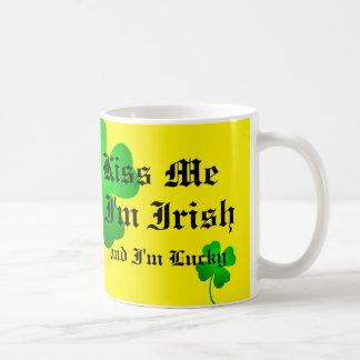 Kiss Me I'm Irish 11oz mug